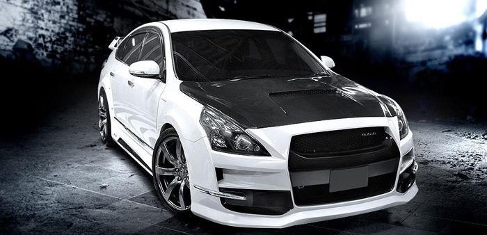 BODY KIT MẪU SKYLINE NISSAN TEANA 2010